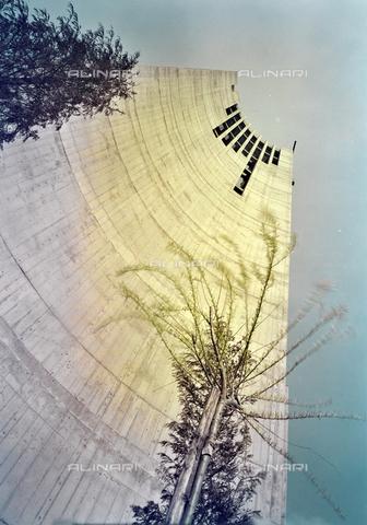 FVA-S-260000-0025 - Chiesa di San Lorenzo Giustiniani, campanile, Mestre, Venezia - Data dello scatto: 1961 - Archivi Alinari, Firenze