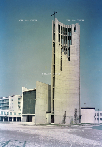 FVA-S-260000-0031 - Chiesa di San Lorenzo Giustiniani, Mestre, Venezia - Data dello scatto: 1961 - Archivi Alinari-donazione Ferruzzi, Firenze