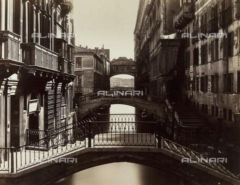 FVD-F-009244-0000 - Rio della Canonica, Venice - Data dello scatto: 1875 ca. - Archivi Alinari, Firenze