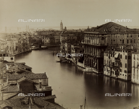 FVD-F-009255-0000 - View of the Grand Canal, Venice - Data dello scatto: 1875 ca. - Archivi Alinari, Firenze