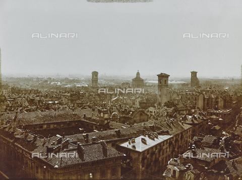 FVQ-F-000020-0000 - Veduta di Torino dalla Mole Antonelliana - Data dello scatto: 26/08/1926 - Raccolte Museali Fratelli Alinari (RMFA), Firenze