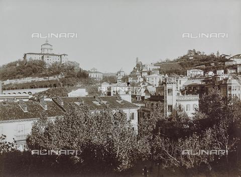 FVQ-F-000023-0000 - Veduta della collina con il convento dei Cappuccini, Torino - Data dello scatto: 05/11/1922 - Raccolte Museali Fratelli Alinari (RMFA), Firenze
