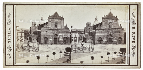 FVQ-F-012062-0000 - The cathedral of Santa Maria, Messina; Stereoscopic photograph - Data dello scatto: 1880-1890 - Archivi Alinari, Firenze