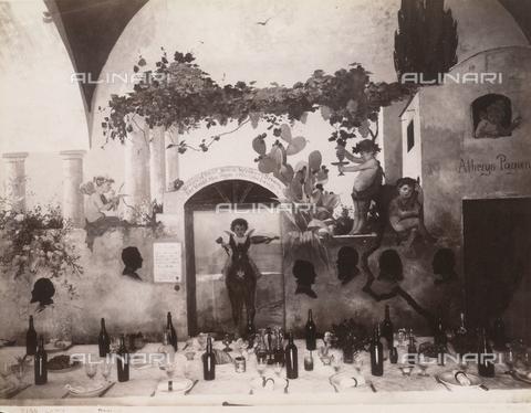 FVQ-F-013287-0000 - Hotel Pagano's restaurant, Capri - Data dello scatto: 1870-1880 - Archivi Alinari, Firenze