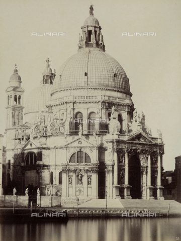 FVQ-F-023737-0000 - The Church of Santa Maria della Salute, Venice - Data dello scatto: 1865-1875 - Archivi Alinari, Firenze