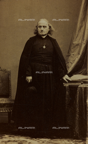 FVQ-F-027516-0000 - Portrait of Théodore Ratisbonne, Catholic priest; carte de visite - Data dello scatto: 1860-1870 - Archivi Alinari, Firenze