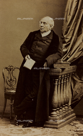 FVQ-F-027546-0000 - Portrait of Antoine Pierre Berryer, French advocate and parliamentary orator; carte de visite - Data dello scatto: 1860-1868 - Archivi Alinari, Firenze