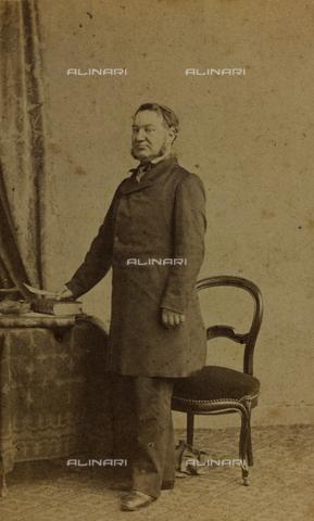 FVQ-F-027748-0000 - Ritratto di Louis Veuillot, giornalista e scrittore francese; carte de visite - Data dello scatto: 1860-1870 - Raccolte Museali Fratelli Alinari (RMFA), Firenze