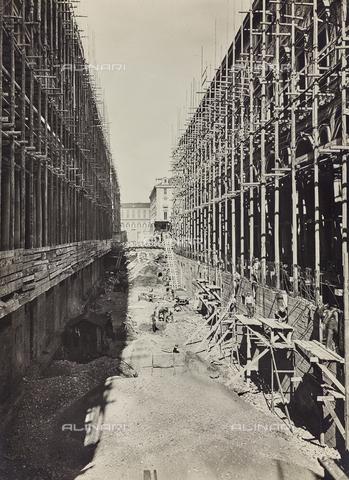 FVQ-F-029851-0000 - Lavori per la costruzione della nuova via Roma, Torino - Data dello scatto: 1930 ca. - Raccolte Museali Fratelli Alinari (RMFA), Firenze