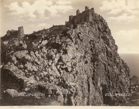 FVQ-F-030299-0000 - View of the Castellone, Capri - Data dello scatto: 1870-1880 - Archivi Alinari, Firenze