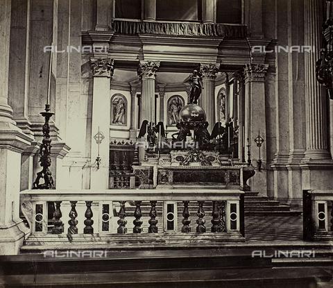 FVQ-F-030373-0000 - Interno della Chiesa di San Giorgio Maggiore a Venezia - Data dello scatto: 1860-1870 - Raccolte Museali Fratelli Alinari (RMFA), Firenze