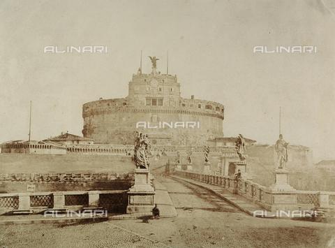 FVQ-F-034236-0000 - Castel Sant'Angelo a Roma - Data dello scatto: 1850 ca. - Archivi Alinari, Firenze