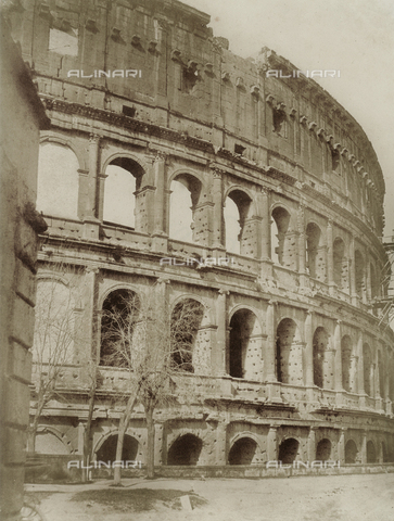 FVQ-F-034241-0000 - The Colosseum in Rome - Data dello scatto: 1853 ca. - Archivi Alinari, Firenze
