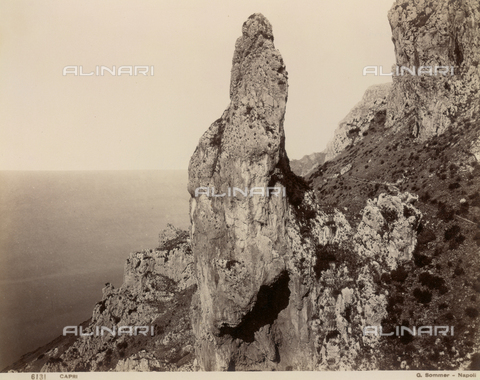 FVQ-F-036193-0000 - View of Capri - Data dello scatto: 1870-1880 - Archivi Alinari, Firenze