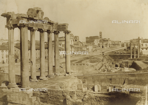FVQ-F-040123-0000 - Roman Forum in Rome - Data dello scatto: 1852 ca. - Archivi Alinari, Firenze