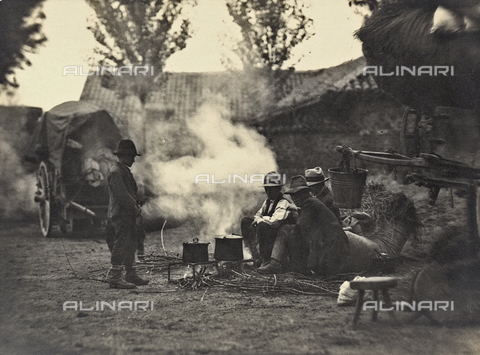 FVQ-F-040430-0000 - Shepherds - Date of photography: 1931 - Fratelli Alinari Museum Collections, Florence