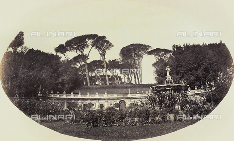 FVQ-F-043578-0000 - The Fountain of Lillies, park of Villa Pamphilj, Rome