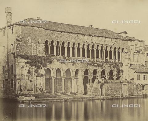 FVQ-F-043607-0000 - Venice. Warehouse of the Turks - Data dello scatto: 1855 ca. - Archivi Alinari, Firenze