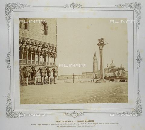 FVQ-F-043612-0000 - Venice. Palazzo Ducale and San Giorgio Maggiore - Data dello scatto: 1855 ca. - Archivi Alinari, Firenze