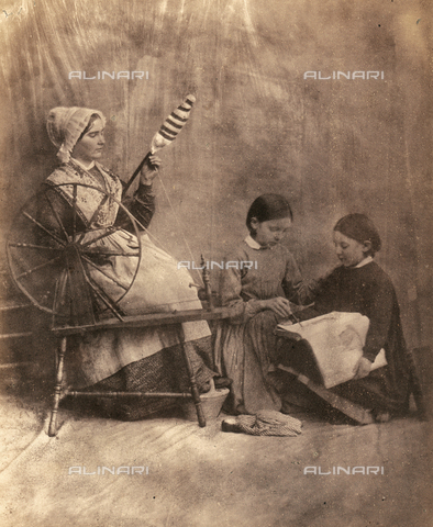 FVQ-F-045372-0000 - Scena di genere - Data dello scatto: 1855 ca. - Raccolte Museali Fratelli Alinari (RMFA), Firenze