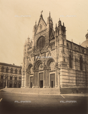 FVQ-F-045408-0000 - Duomo of Siena - Date of photography: 1860 ca. - Fratelli Alinari Museum Collections, Florence