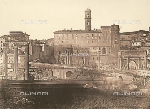FVQ-F-046083-0000 - Rome. Campo Vaccino - Data dello scatto: 1852 ca. - Archivi Alinari, Firenze