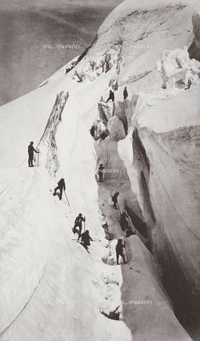 FVQ-F-049867-0000 - Scalata del Monte Bianco - Data dello scatto: 1860 ca. - Raccolte Museali Fratelli Alinari (RMFA), Firenze