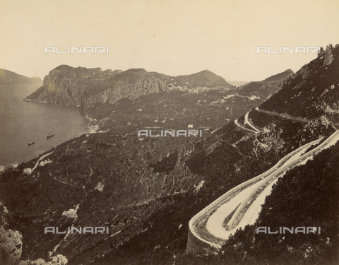 FVQ-F-049877-0000 - View of the surroundings of Anacapri on the island of Capri - Data dello scatto: 1870-1880 - Archivi Alinari, Firenze