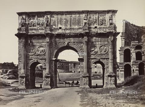 FVQ-F-054498-0000 - Arch of Constantine, Rome - Data dello scatto: 1855 ca. - Archivi Alinari, Firenze
