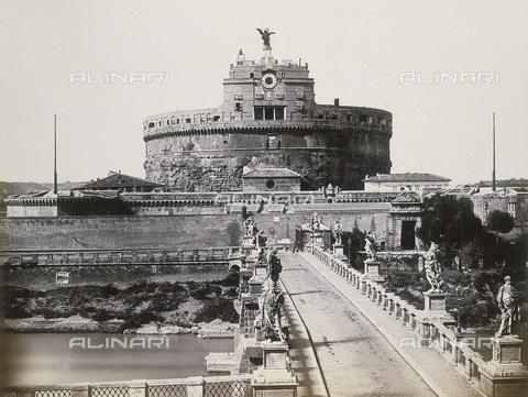 FVQ-F-054510-0000 - Rome. The Castle of Saint Angelo - Data dello scatto: 1855 ca. - Archivi Alinari, Firenze