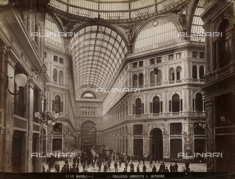 FVQ-F-057557-0000 - The Galleria Umberto I of Naples - Date of photography: 1895 ca. - Fratelli Alinari Museum Collections, Florence