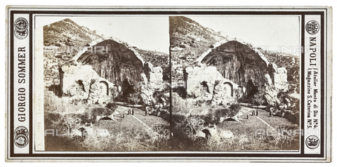 FVQ-F-057747-0000 - Temple of Diana in Baia, Bacoli, Naples; Stereoscopic photograph - Data dello scatto: 1880-1890 - Archivi Alinari, Firenze
