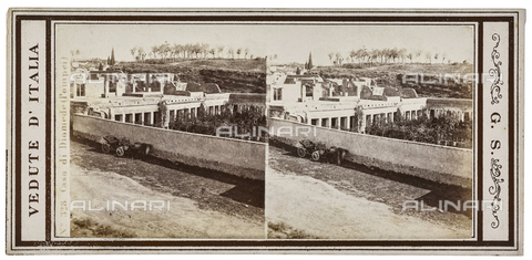 FVQ-F-057750-0000 - House of Diomedes in the archaeological area of Pompeii. Stereoscopic image - Data dello scatto: 1880-1890 - Archivi Alinari, Firenze