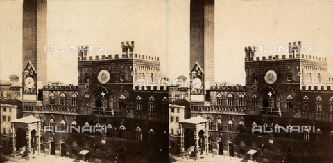 FVQ-F-061503-0000 - The Palazzo Pubblico, Siena - Date of photography: 1870 ca. - Fratelli Alinari Museum Collections, Florence