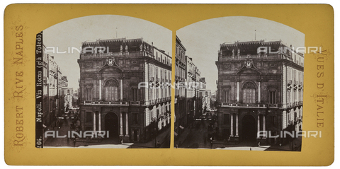 FVQ-F-064676-0000 - View of Toledo Street (via Roma from 1870 to 1980). Stereoscopic image - Data dello scatto: 1880-1890 - Archivi Alinari, Firenze
