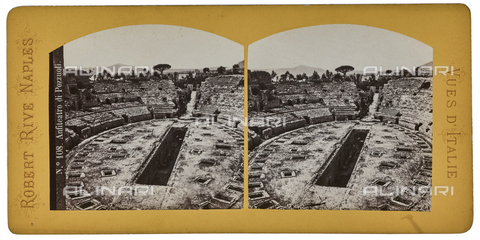 FVQ-F-064679-0000 - The Flavian Amphitheater in Pozzuoli. Stereoscopic image - Data dello scatto: 1880-1890 - Archivi Alinari, Firenze