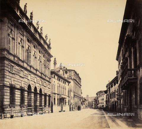 FVQ-F-065170-0000 - Buildings along Corso Vecchio in Verona - Data dello scatto: 1855-1858 ca. - Archivi Alinari, Firenze