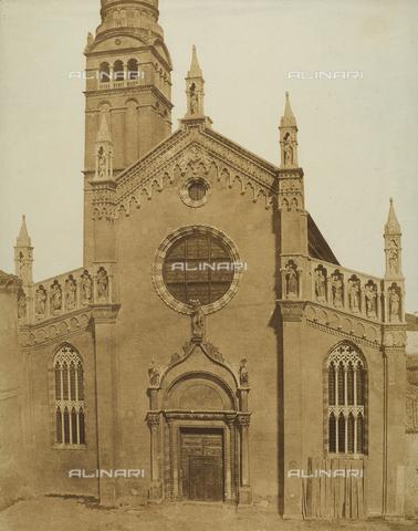 FVQ-F-065179-0000 - Church of the Madonna dell'Orto in Venice - Data dello scatto: 1855 ca. - Archivi Alinari, Firenze