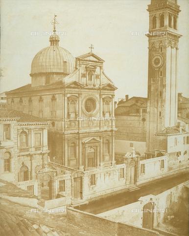 FVQ-F-065181-0000 - The church of San Giorgio dei Greci or St. George of the Greeks, Venice - Data dello scatto: 1855 ca. - Archivi Alinari, Firenze
