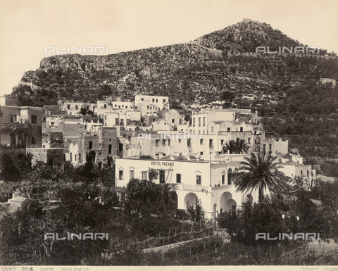FVQ-F-065555-0000 - Pagano Hotel on the island of Capri - Data dello scatto: 1870-1880 - Archivi Alinari, Firenze