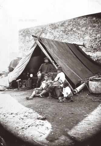 FVQ-F-067576-0000 - Group of fishermens - Data dello scatto: 1900 ca. - Archivi Alinari, Firenze