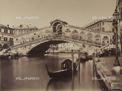 FVQ-F-069217-0000 - Ponte di Rio Alto on the Grand Canal - Data dello scatto: 1870 ca. - Archivi Alinari, Firenze