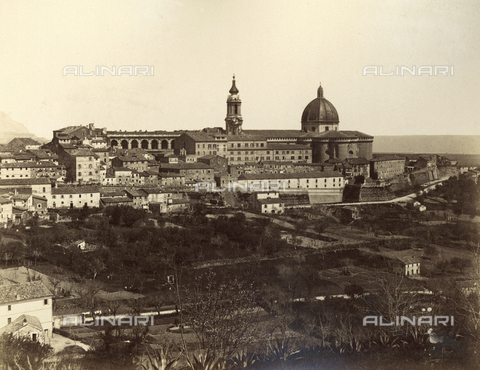 FVQ-F-075045-0000 - View of Loreto with the Sanctuary of the Holy House - Date of photography: 1880-1890 - Fratelli Alinari Museum Collections, Florence