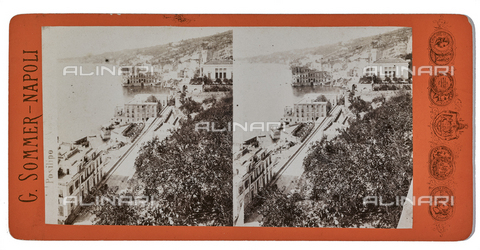 FVQ-F-075608-0000 - View of Posillipo. Stereoscopic image - Data dello scatto: 1880-1890 - Archivi Alinari, Firenze