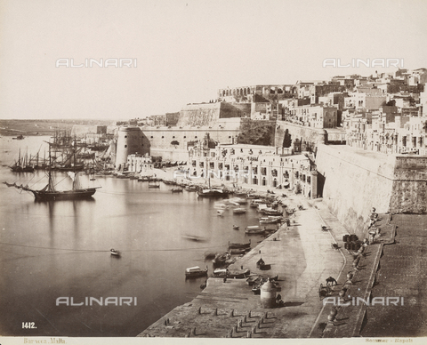FVQ-F-078331-0000 - View of the Island of Malta - Data dello scatto: 1860-1870 ca. - Archivi Alinari, Firenze