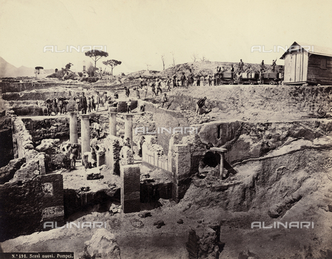 FVQ-F-089012-0000 - New archaeological site, Pompei - Data dello scatto: 1870 ca. - Archivi Alinari, Firenze