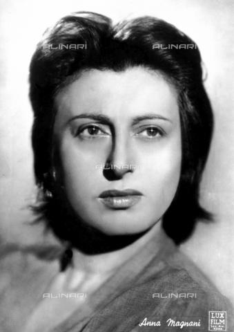 FVQ-F-092495-0000 - Ritratto dell'attrice italiana Anna Magnani (1908-1973) - Data dello scatto: 1938-1953 ca. - Archivi Alinari, Firenze