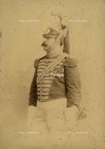 FVQ-F-094691-0000 - Ritratto di corazziere - Data dello scatto: 1870 ca. - Raccolte Museali Fratelli Alinari (RMFA), Firenze
