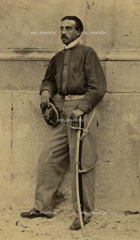 FVQ-F-094694-0000 - Portrait of the General Giuseppe Missori (1829-1911) - Data dello scatto: 1860 ca. - Archivi Alinari, Firenze