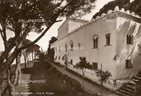 FVQ-F-096108-0000 - Villa San Michele in Anacapri - Data dello scatto: 1920 - Archivi Alinari, Firenze